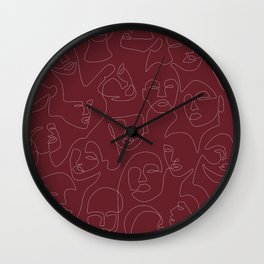 Rich and Bold Wall Clock