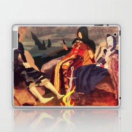 Three Soul's Maidens in Majula Laptop & iPad Skin