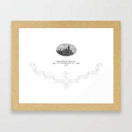 Danvers - State Insane Asylum, Danvers, MA Framed Art Print