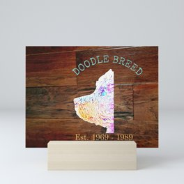 DOODLE BREED  Mini Art Print