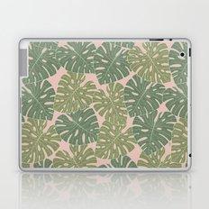 Monstera leaves Laptop & iPad Skin