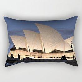 Sydney Opera House v2 Rectangular Pillow
