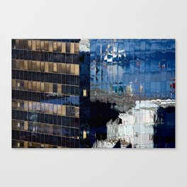 Valparaiso Reflection Canvas Print