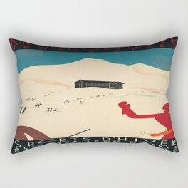 Vintage poster - France Rectangular Pillow