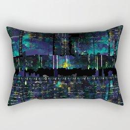 Glitch Odyssey Rectangular Pillow