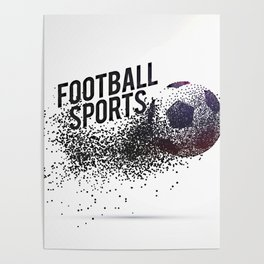 Particle ball composition Poster
