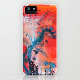 Joyous Lines iPhone Case
