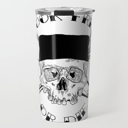 COOK FREE OR DIE Travel Mug