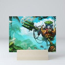 Rumble in the Jungle League of Legends Mini Art Print