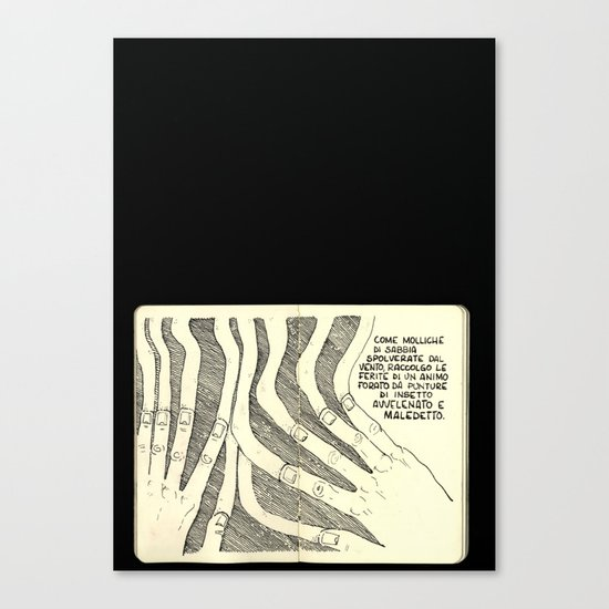 Molliche Di Sabbia Canvas Print