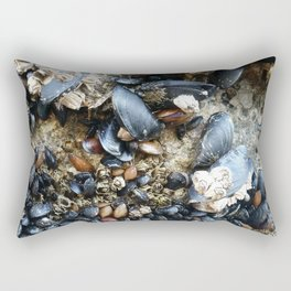 Mussels and Barnacles Rectangular Pillow