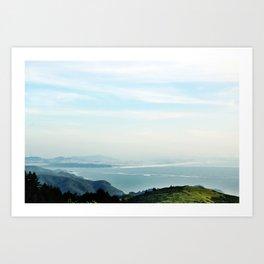 samuel p. taylor state park Art Print