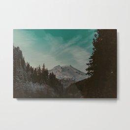 Mt. Baker Metal Print