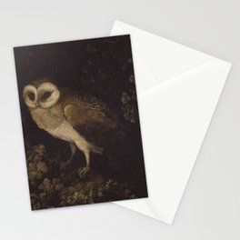 An Owl By Moses Haughton 1780 - Reproduction from original under CC0 Stationery Cards