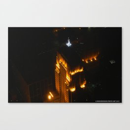 Chicago's Goddess of Grain (Chicago Architecture Collection) Canvas Print