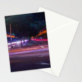 Luces en la ciudad Stationery Cards