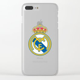Real Madrid football club Clear iPhone Case