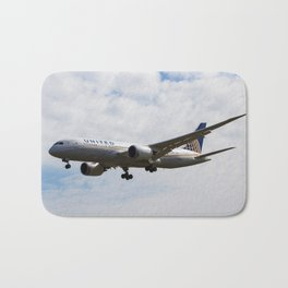 United Airlines Boeing 787 Bath Mat
