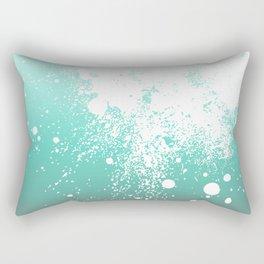Splattered Ombre Rectangular Pillow