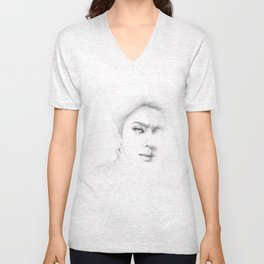 In my dreams you are a part of me. P7 Unisex V-Neck