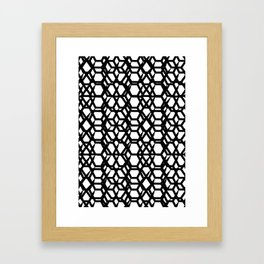 Abstract pattern II Framed Art Print