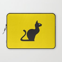 Angry Animals: Cat Laptop Sleeve