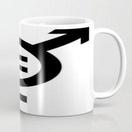 Equality - Merged Male and Female Gender Symbols Coffee Mug
