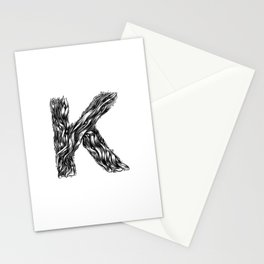 The Illustrated K Stationery Cards