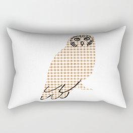 Ginghanimals - Owl Rectangular Pillow