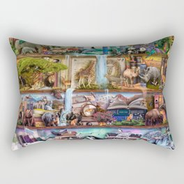 The Amazing Animal Kingdom Rectangular Pillow