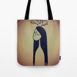Birdie lady Tote Bag