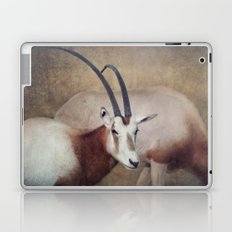 Scimitar oryx Laptop & iPad Skin