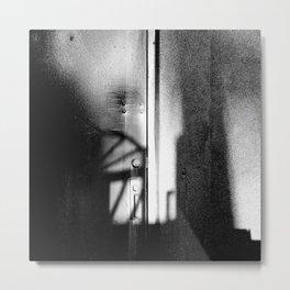 Beyond the limited parameters Metal Print