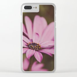 Summer Flower Clear iPhone Case
