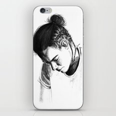 Braids iPhone & iPod Skin