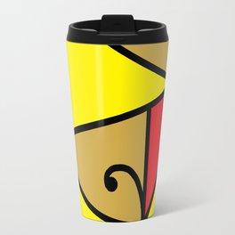 M5 Red Travel Mug