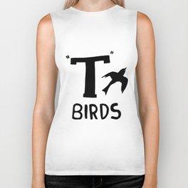 Birds Grease John Travolta Swag Vest Tank Top Men Women Unisex swag Biker Tank