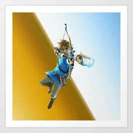 The legend of Zelda(Archer) Art Print