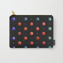 Polka in Space (1) Carry-All Pouch