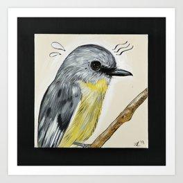 Bird Sweat Art Print