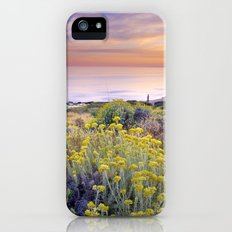 Yellow flowers at the sea iPhone (5, 5s) Slim Case