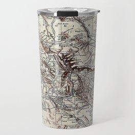 Vintage Map of Arizona (1911)  Travel Mug