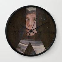 alien Wall Clocks featuring Alien by JAGraphic