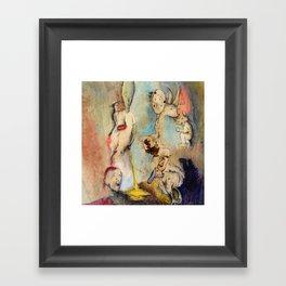 Back Alley Framed Art Print