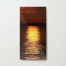 Gold From Above Metal Print