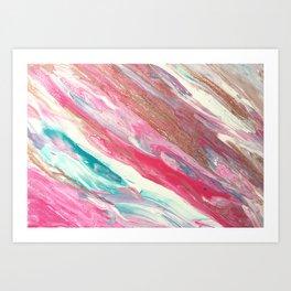 Candy Floss Art Print