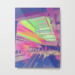 Spectrum Escalation Metal Print