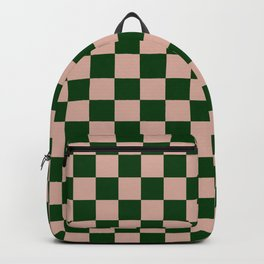 Forest Check Backpack