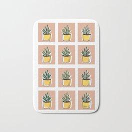 succulents Patterns Collection 2.3 Bath Mat