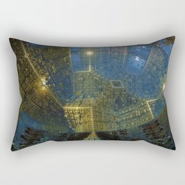 The City Wide and Broad Rectangular Pillow